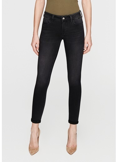 Mavi Jean Pantolon | Lexy - Super Skinny Gri